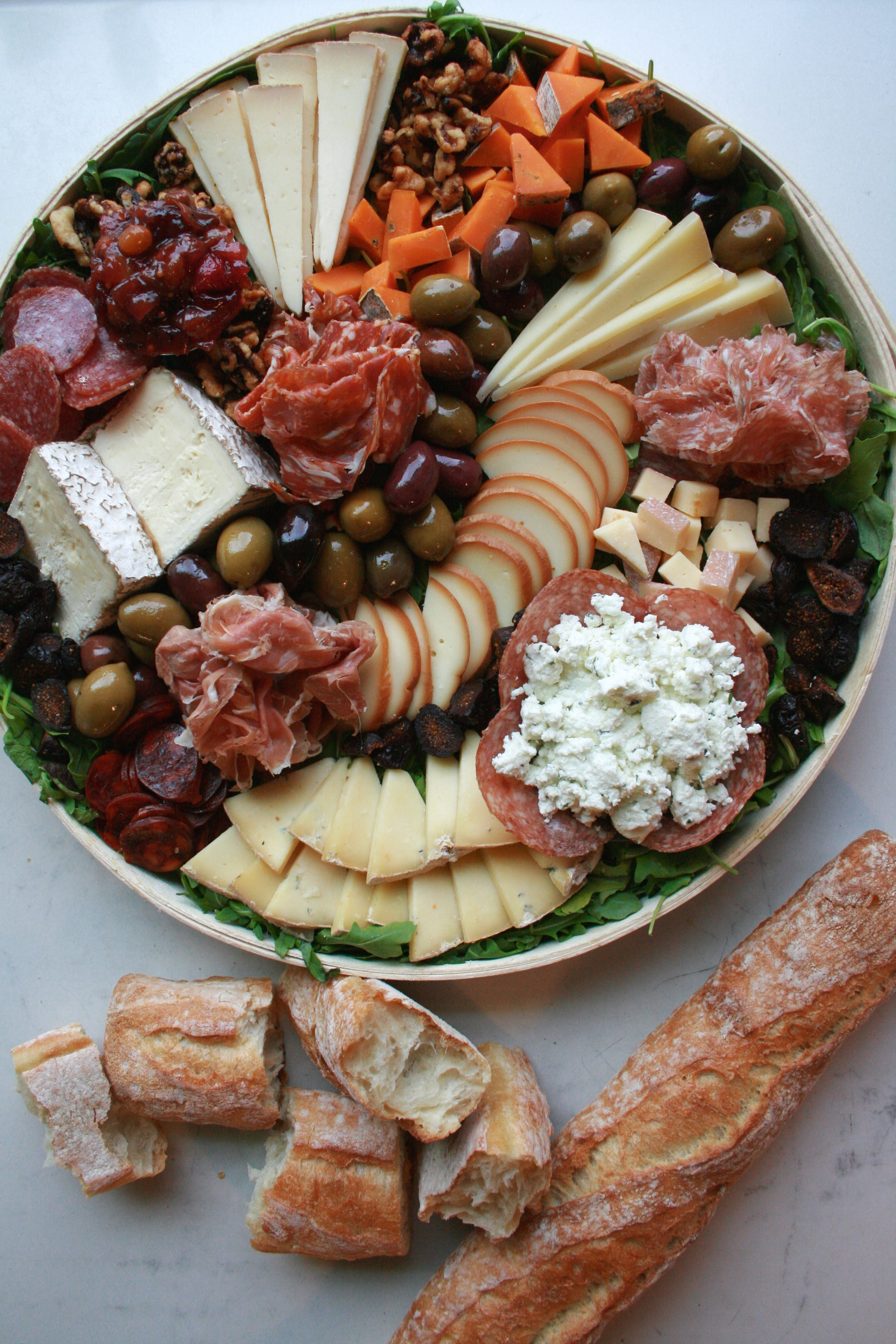 Cheese and Charcuterie Tray
